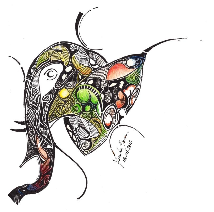 elephant-doodle