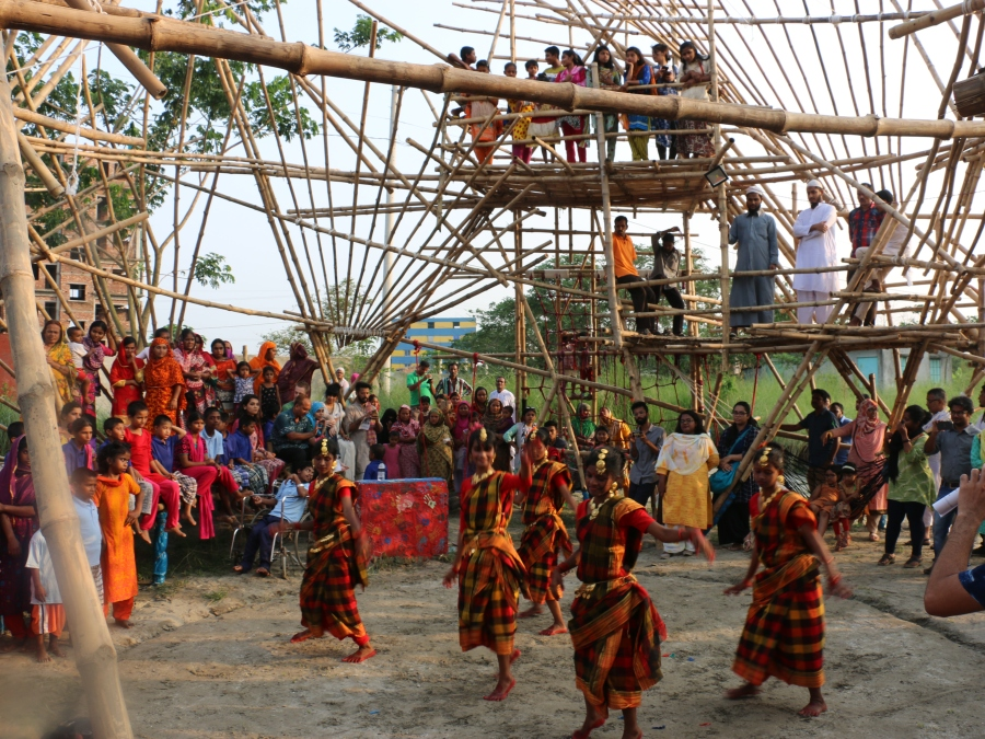 31 _ children of the LEEDO Peace Home performed beautifully to inaugurate the openeing of the Bamboo Play Space..JPG