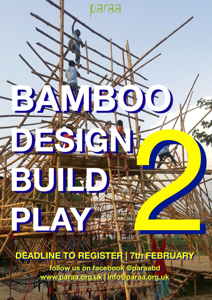 Bamboo Design Build Play Course Outline